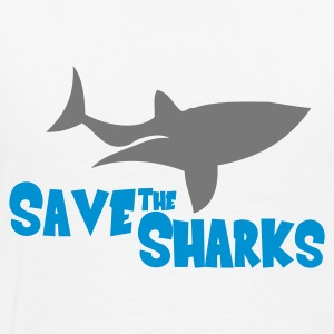 Save the Sharks - Männer Premium T-Shirt