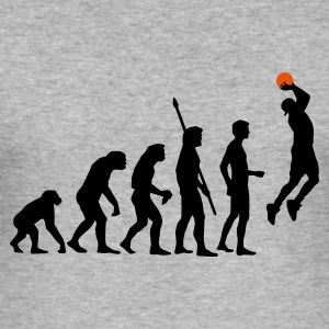 evolution_basketball_b_2c Gensere - Slim Fit T-skjorte for menn