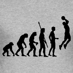 evolution_basketball_b_1c Gensere - Slim Fit T-skjorte for menn