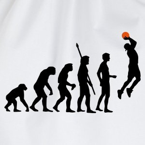 Weiß evolution_basketball_b_2c T-Shirts - Turnbeutel