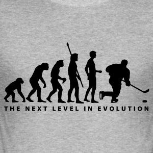 evolution_eishockey_c Sweat-shirts - Tee shirt près du corps Homme