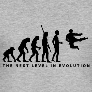 evolution_kung_fu_b Sweaters - slim fit T-shirt