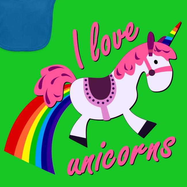 I love unicorns slab