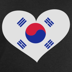 Schwarz South Korea heart - eushirt.com T-Shirts - Men's Sweatshirt by Stanley & Stella