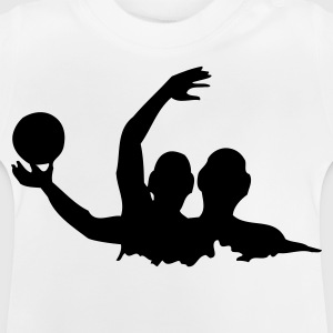 Wit Water Polo 1C Kinder shirts - Baby T-shirt