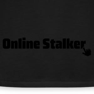 Black online stalker Hoodies & Sweatshirts - Men's Premium T-Shirt