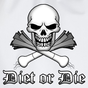 Diet or Die - Drawstring Bag