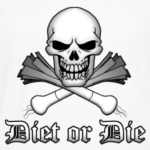 Diet or Die - Men's Premium Longsleeve Shirt