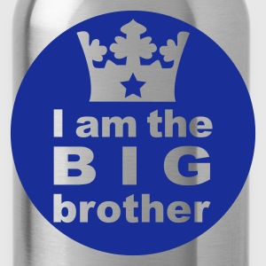 Rot I am the Big Brother Kinder T-Shirts - Trinkflasche
