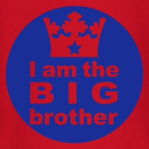 Rot I am the Big Brother Kinder T-Shirts - Baby Langarmshirt