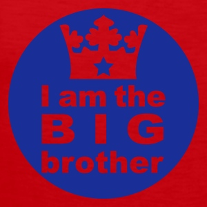 I am the Big Brother - Men's Premium Tank Top