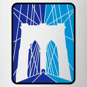 Weiß BrooklynBridge2 T-Shirts - Tasse