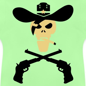 Grün dead sheriff (2c) Kinder Pullover - Baby T-Shirt