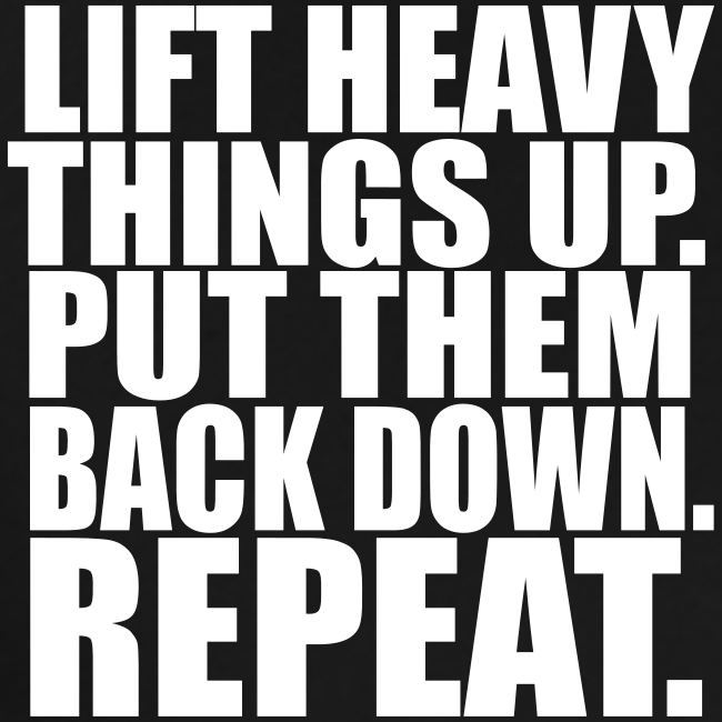 Lift Things up Put Them Backd Down