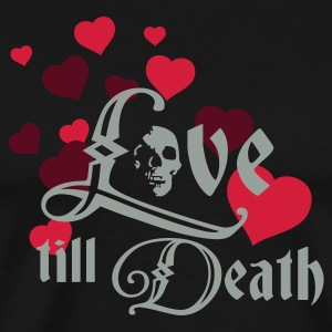 love_till_death_c_3c Sweat-shirts - T-shirt Premium Homme