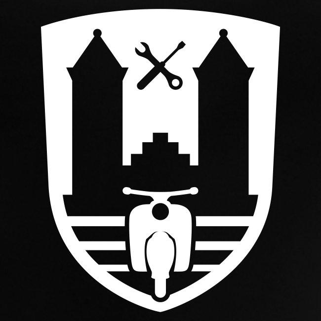 Mopedsport Wappen / Logo / Emblem (+ Dein Text)