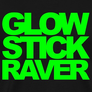 Navy Glow Stick Raver 2 Kids' Tops - Men's Premium T-Shirt