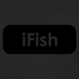 iFish Fishing T-Shirt - Red Print - Men's Premium Longsleeve Shirt