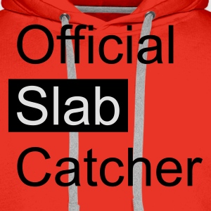 Red Official Slab Catcher Men's T-Shirts - Men's Premium Hoodie