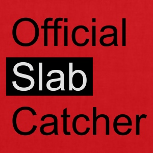 Red Official Slab Catcher Men's T-Shirts - Tote Bag