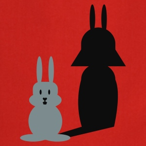 Rød Hase Helmchen / bunny and the dark side (2c) T-shirts - Forklæde