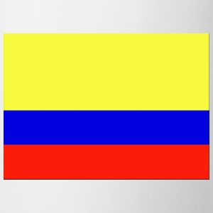 Wit i_love_colombia T-shirts - Mok