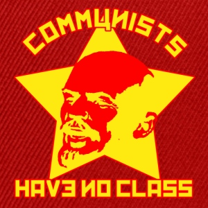 Red Communists Have No Class Men's T-Shirts - Snapback Cap