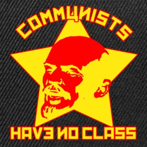 Black Communists Have No Class Men's T-Shirts - Snapback Cap