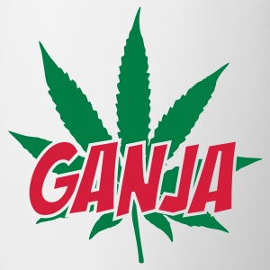 White Ganja Hoodies & Sweatshirts - Mug