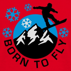 snowboard_mountains_e_3c Hoodies & Sweatshirts - Men's T-Shirt