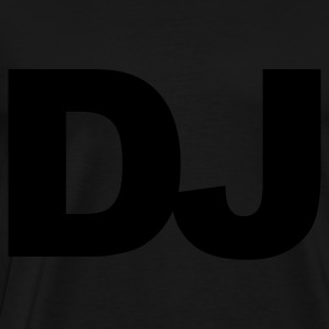 Black DJ Hoodies & Sweatshirts - Men's Premium T-Shirt