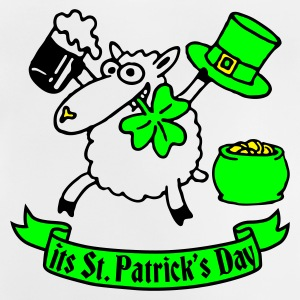 st_patricks_sheep_white_b Shirts - Baby T-shirt