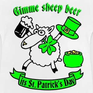 st_patricks_sheep_white Tee shirts - T-shirt Bébé