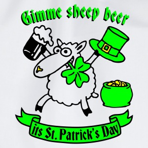 st_patricks_sheep_white Flessen & bekers - Gymtas