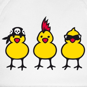 Three Chicks T-shirts - Basebollkeps
