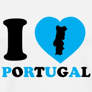 I Love Portugal - T-shirt Premium Homme