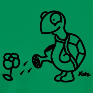 Green Turtle   Aprons - Men's Premium T-Shirt