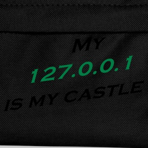 My 127.0.0.1 Is My Castle T-Shirts - Kinder Rucksack