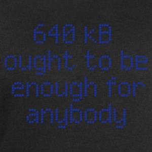 640 kB enough for anybody T-Shirts - Männer Sweatshirt von Stanley & Stella