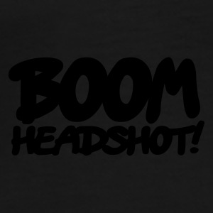Black boom headshot! 1c UK Underwear - Men's Premium T-Shirt