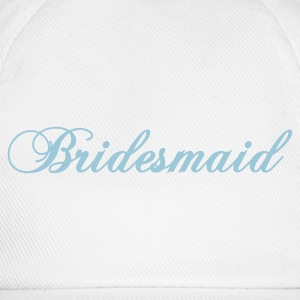 White bridesmaid 2010 Women's T-Shirts - Baseball Cap