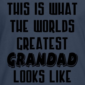 World's Greatest Grandad - Men's Premium Longsleeve Shirt