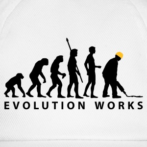 evolution_bauarbeiter_b_2c T-Shirts - Baseball Cap