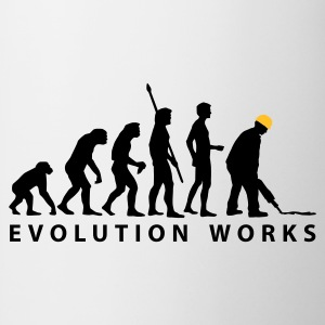 evolution_bauarbeiter_b_2c T-Shirts - Mug