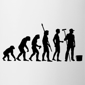 evolution_maler_b T-shirts - Mugg