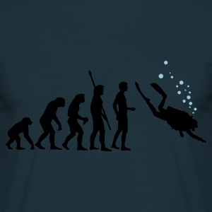 evolution_taucher_c_2c Sweatshirts - Herre-T-shirt