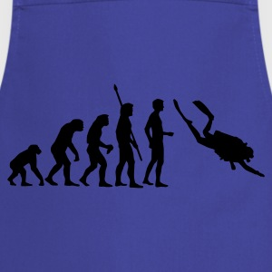 evolution_taucher_a Hoodies & Sweatshirts - Cooking Apron
