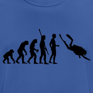 evolution_taucher_a Sweatshirts - Herre T-shirt svedtransporterende