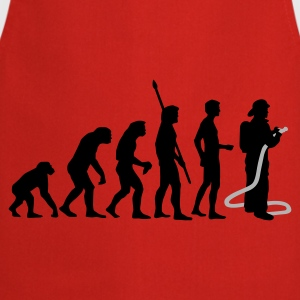evolution firefighter Felpe - Grembiule da cucina