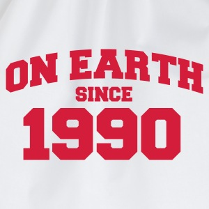 Wit onearth1990 T-shirts - Gymtas